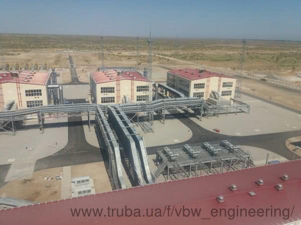 VBW Engineering реализовала новый проект - Газопровод Центральная Азия - Китай.