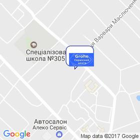 Гроэ-сервис на карте