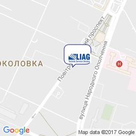 Лиаг Техник Сервис Украина на карте