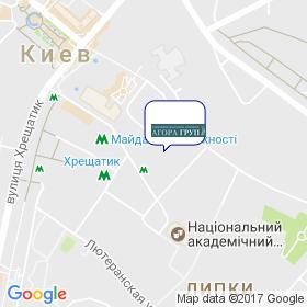 АГОРА ГРУП на карте