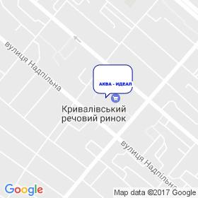 Аква - Идеал на карте