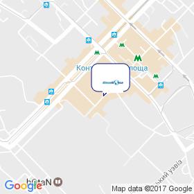 ВОДНЫЙ МИР АКВА УКРАИНА на карте