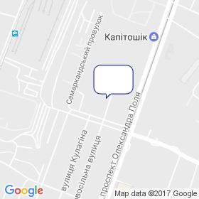 СКС на карте
