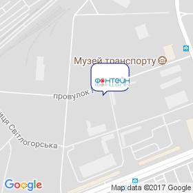 ФОНТЕЙН на карте