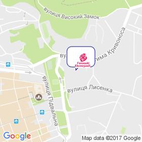 Гал Экспо на карте