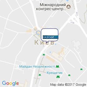 ГидроАрт на карте