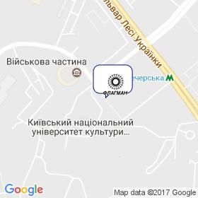 Флагман-Украина на карте