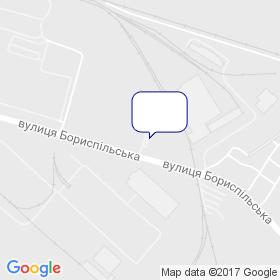 Интерпайп-Украина, киевский склад  компании на карте