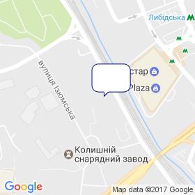 Шилд Украина на карте