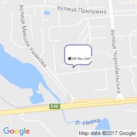 Tел - САТ  СП на карте