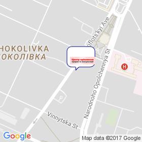 Адель Украина на карте
