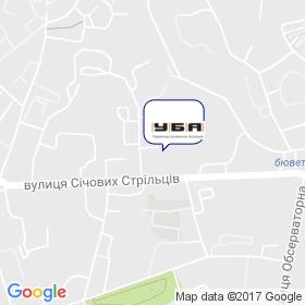 Украинская Строительная Ассоциация (УБА) на карте