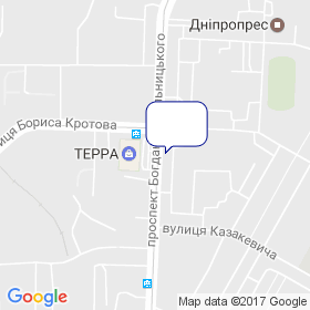 ЮТМК на карте