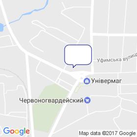 Скабин М.Г. на карте