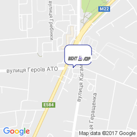 ВЕНТ ПОЛТАВА на карте