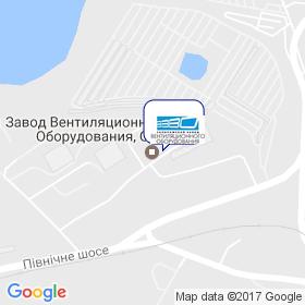 Запорожский завод вентиляционного оборудования на карте