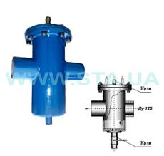 Фильтр-грязевик для воды Ду125мм