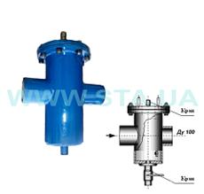Фильтр-грязевик для воды Ду100мм