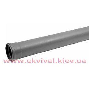 Труба каналізаційна пластикова в асортименті D32-110мм