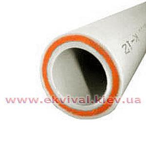 Труба поліпропіленова армована скловолокном Kalde Fiber, D20-63мм