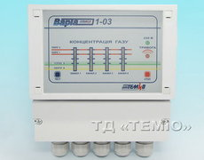 Блок управления сигнализатора газа ВАРТА 1-03