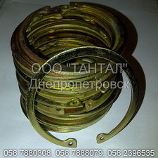Кольцо стопорное внутреннее 80 кадмированное ГОСТ 13943-86 ТАНТАЛ сталь 65Г — ТАНТАЛ