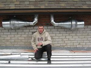 Приточный и вытяжной вентиляторы. — КАРОФФ