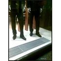 Внутрипольный конвектор MINIB (витрина магазин одежды)