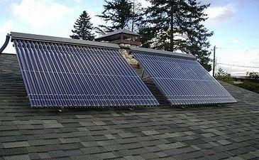 Вакуумные солнечные коллекторы для отопления и горячего водоснабжения — Технолог
