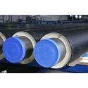 Трубы ППУ и элементы предварительно теплоизолированные вспененным полиуретаном для сетей горячего водоснабжения и  тепловых сетей.