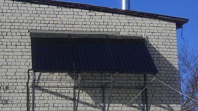 И в селах теперь солнечные коллекторы Buderus. — ТТС Буд
