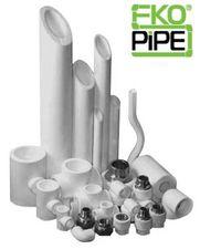 Трубы и фитинги из полипропилена (PP-R)  EKOPIPE — HeatingHouse