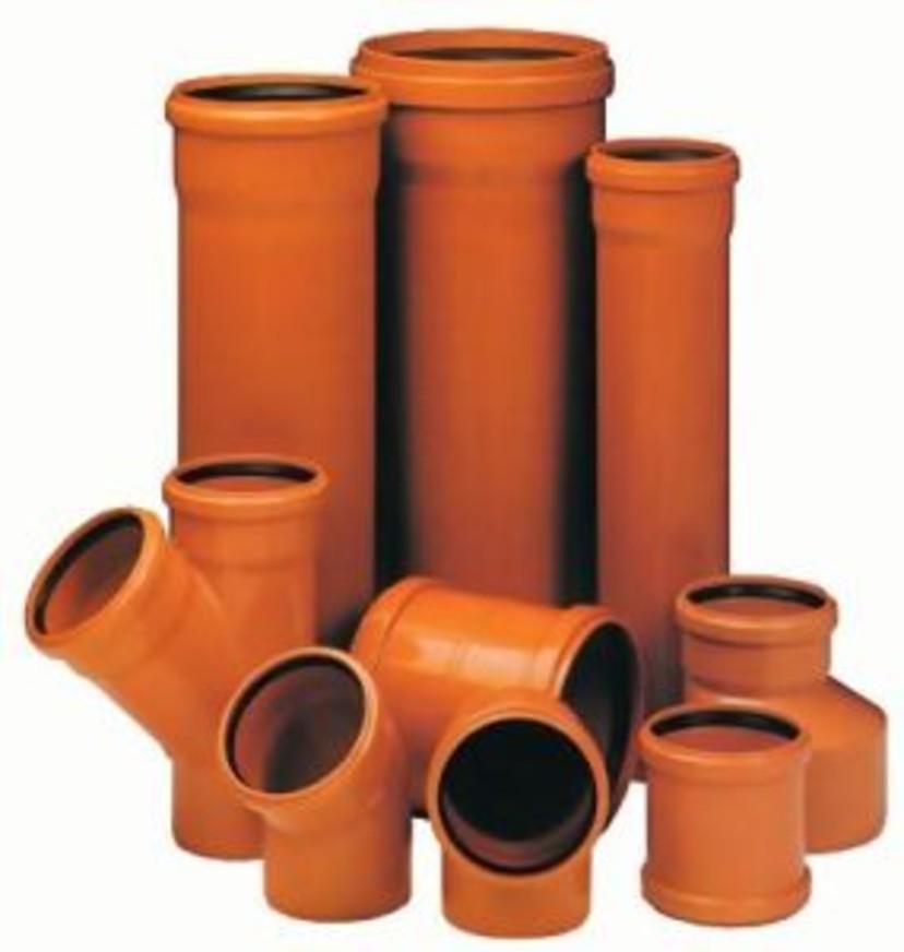 Труба наружная канализация д110, 160, 200, 250, 315, 400, 500, 600