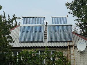 Система солнечного отопления дома — Алиста