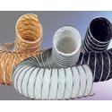 Вентиляционные воздуховоды из тефлона, стекловолокна,  и гибкие гофрированные из лютниовинила