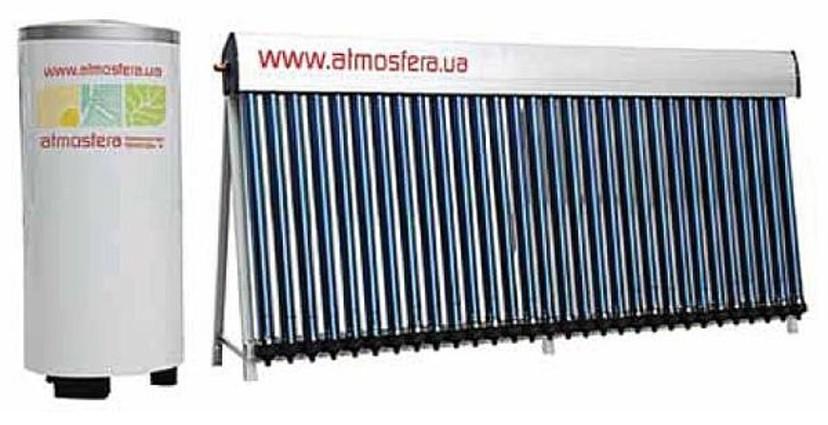 Балконный солнечный водонагреватель Атмосфера.UA