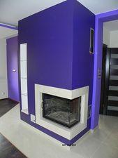 Угловой камин, 22кВт с водяным контуром, для отопления дома — Энергосберегающие системы