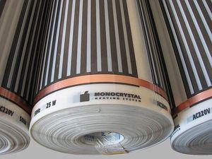 Теплый пол инфракрасный пленочный MONOCRYSTAL — Кристалпром