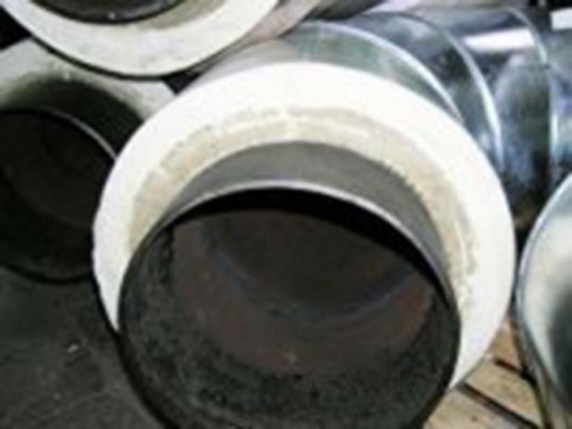 трубы теплоизолированные в оцинкованной оболочке