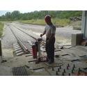 Влаштування анкерів під кріплення рельсів в розморожувачі вагонів вугільного комплексу.