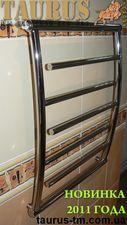 Полотенцесушитель из нержавеющей стали Atlantica 5 / 650x500 от TAURUS (Новинка 2011 года) — TAURUS TM