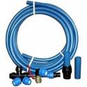 Труба ПЭ для водопровода и фитинги к ней