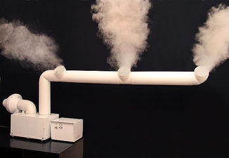 Система увлажнения воздуха Вдох - Нова 6000  в комплекте с раздающим воздуховодом.- туманопроводом. — Вдох-Нова