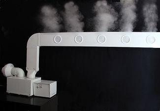 Промышленный увлажнитель воздуха `Вдох-Нова` в комплекте с плоским воздуховодом - туманопроводом.. — Вдох-Нова
