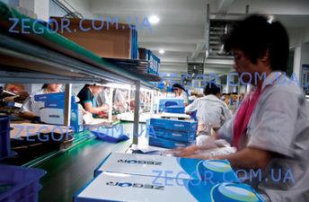 Производственные мощности Taizehou jiamei Sanitari Wares Co., Ltd, производителя ТМ Zegor — ZEGOR Украина TM